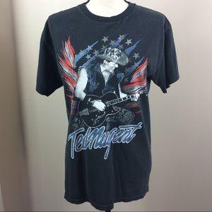 Ted Nugent Black Concert T-Shirt 2013 Tour…